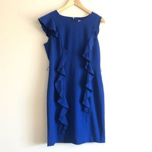 Calvin Klein Blue Shift Dress